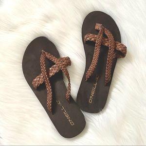 (🌼3/$20🌼) Brown strap sandals
